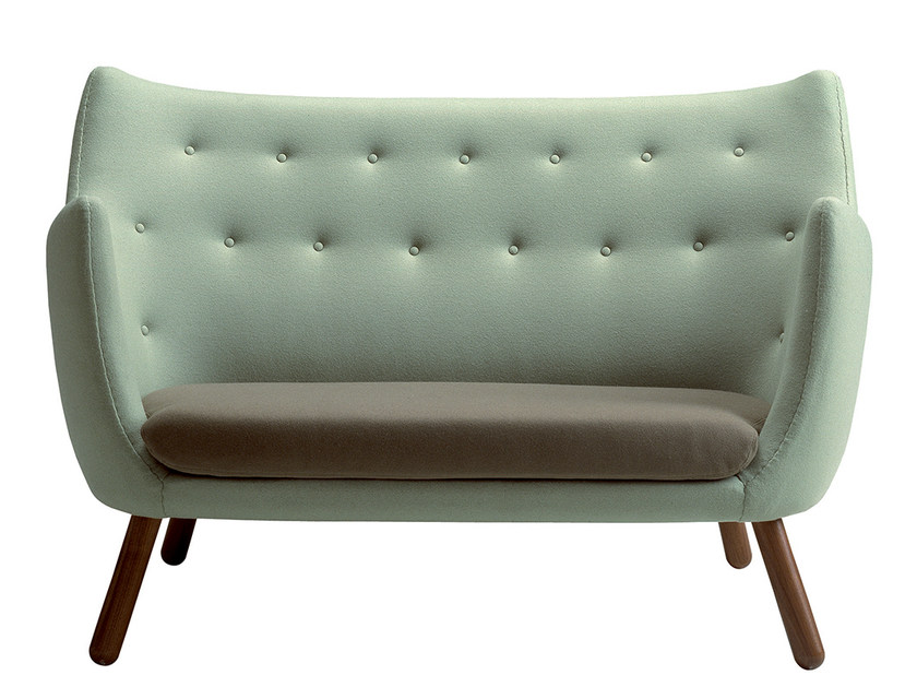 Tufted fabric sofa POET by Onecollection