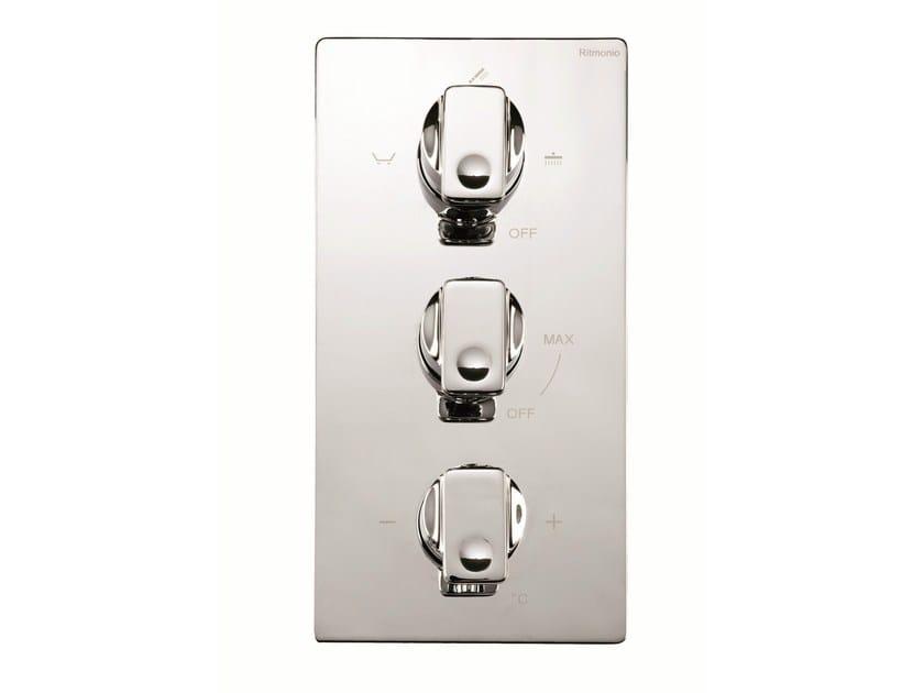 3 hole thermostatic shower mixer NASTRO | 3 hole thermostatic shower mixer by RITMONIO