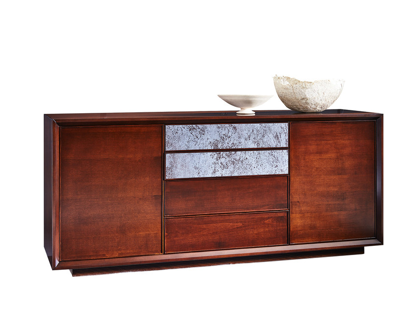 Wooden sideboard with drawers GRACE | Sideboard with drawers by SELVA