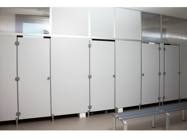 HPL toilet partition SERIE GD/S by GES Group