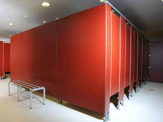 HPL rotation cabins SERIE CRL/14 FG by GES Group