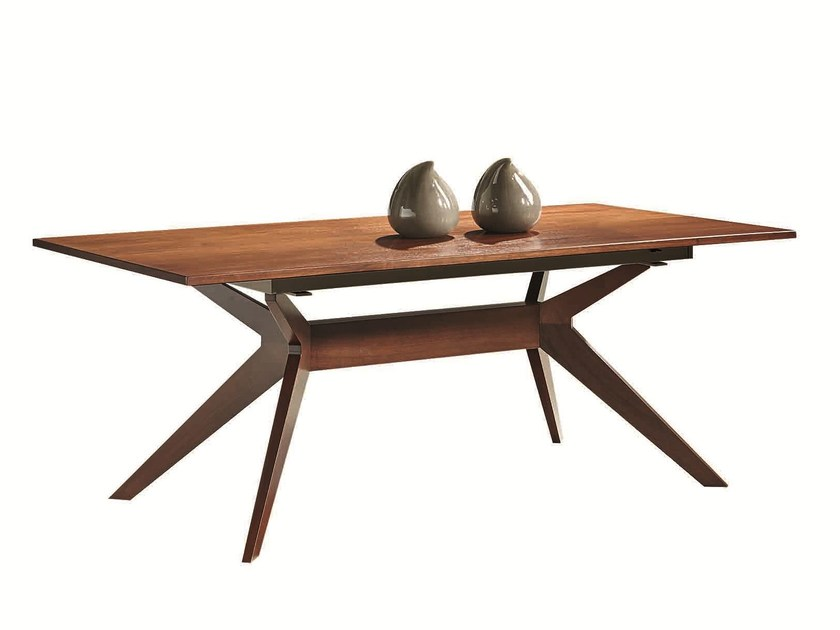 Extending dining table LEONARDO | Dining table by SELVA