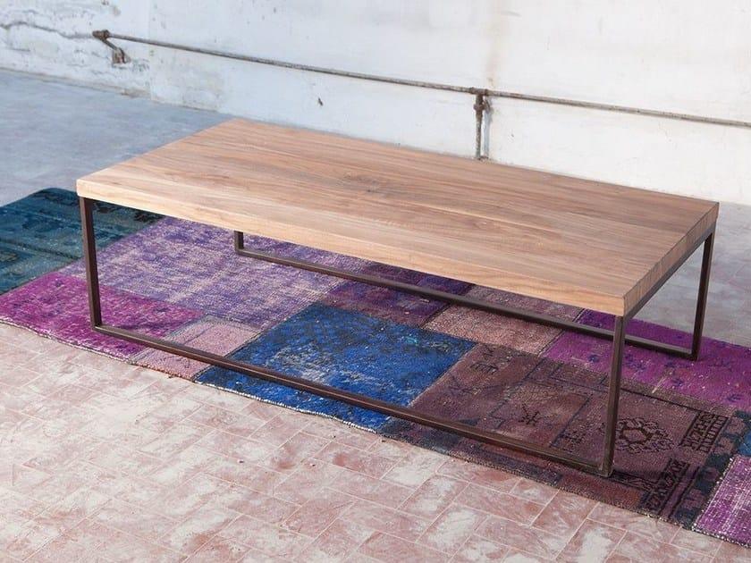 Rectangular coffee table for living room SARIPOV by Domingo Salotti