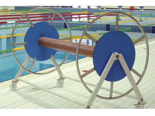 Lane line storage reel Lane line storage reel by GES Group