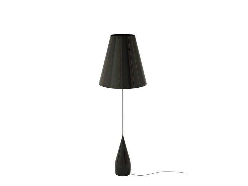 Aluminium and pvc floor lamp opus floor lamp by marzais créations