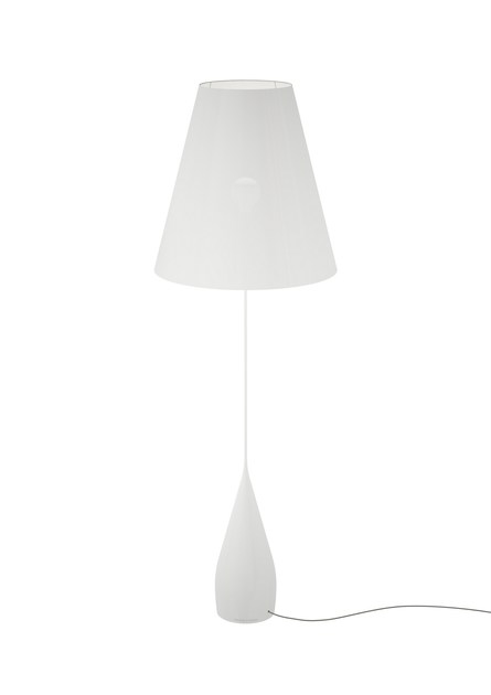 Aluminium and pvc floor lamp opus floor lamp by marzais créations