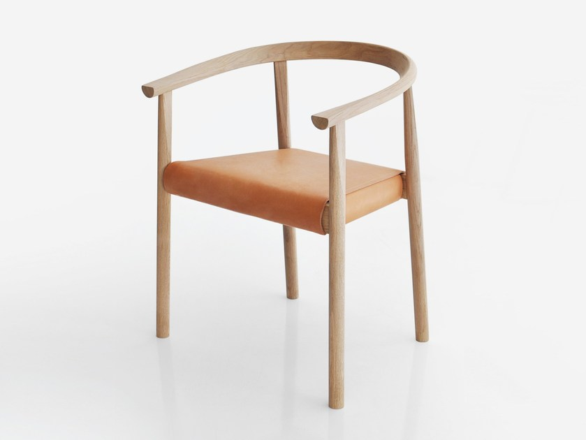 Chair with armrests TOKYO by BENSEN