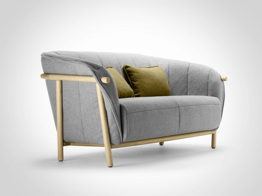 2 seater fabric sofa YAS | 2 seater sofa by Bosc