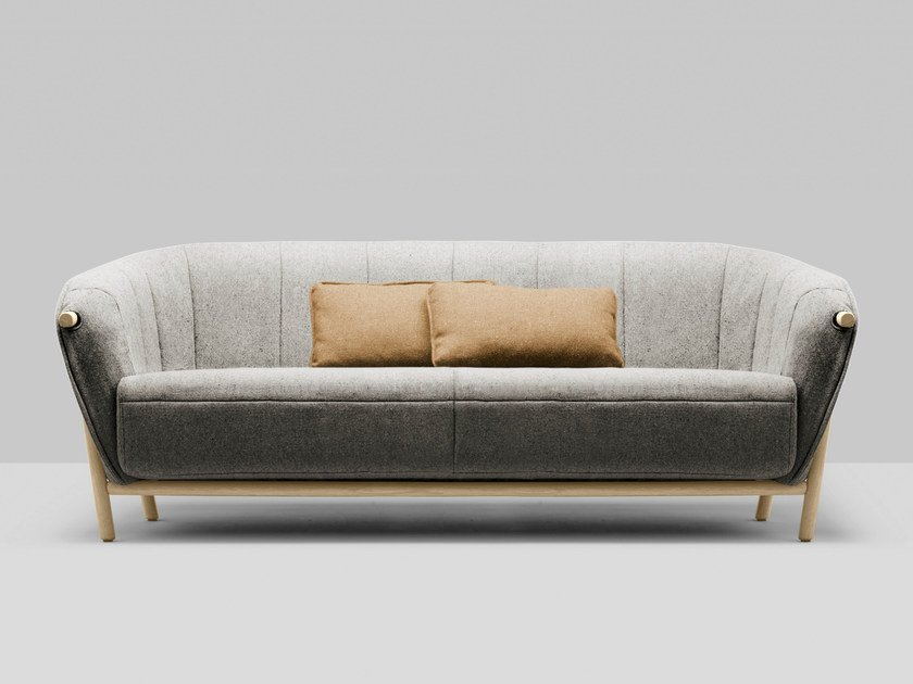 3 seater fabric sofa YAS | 3 seater sofa by Bosc