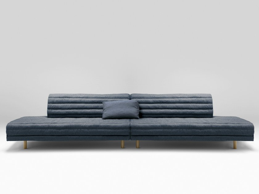 4 seater fabric sofa KOUET | 4 seater sofa by Bosc