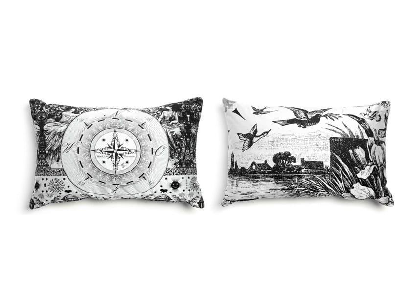 Rectangular fabric sofa cushion HERITAGE 1 by moooi