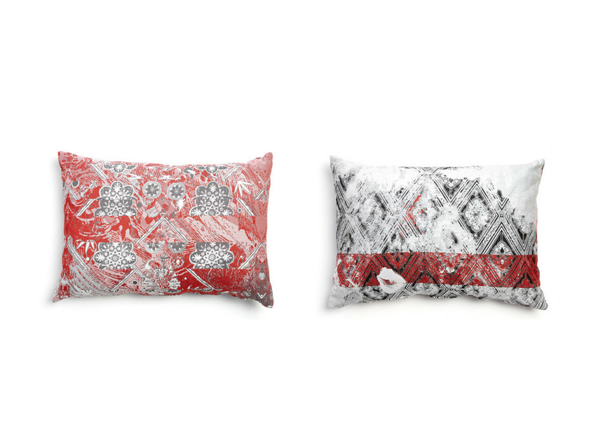 Rectangular fabric sofa cushion OIL 2 by moooi