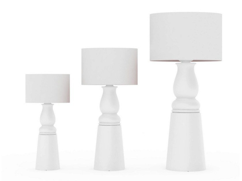 Direct light floor lamp with dimmer FAROOO by moooi