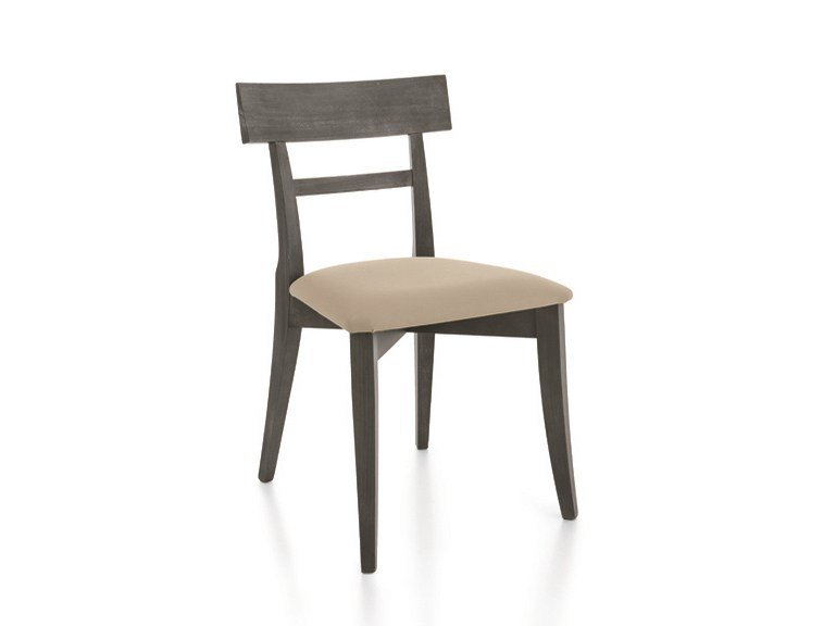 Upholstered chair MAESTRALE | Upholstered chair by Scandola Mobili