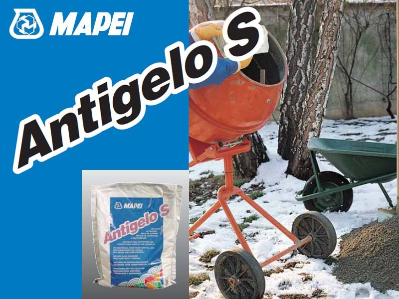 Additive for cement and concrete ANTIGELO S by MAPEI