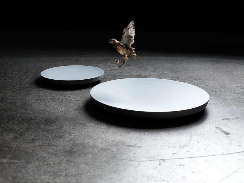 Concrete Rudolph garden bowl disc drop by concrete rudolph design rené holten