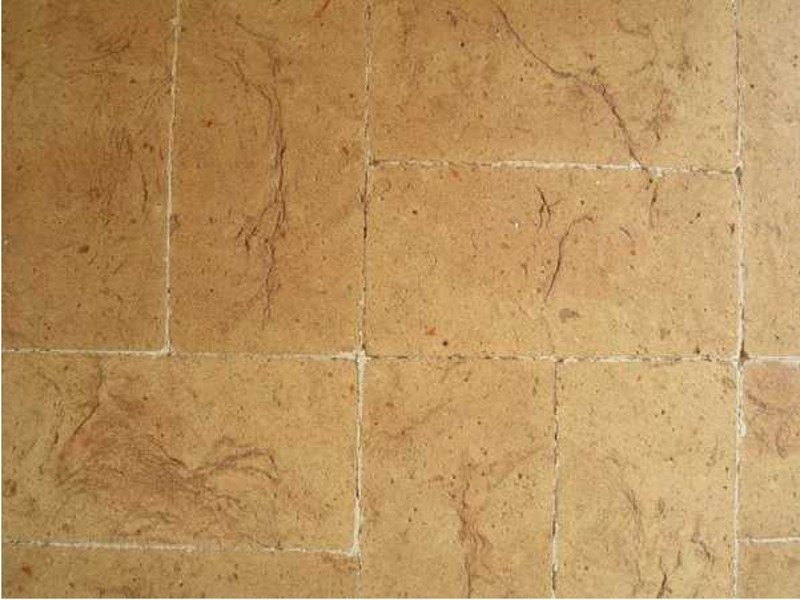 Quarry flooring PAVIMENTO TAVELLA GIALLA by FORNACE FONTI