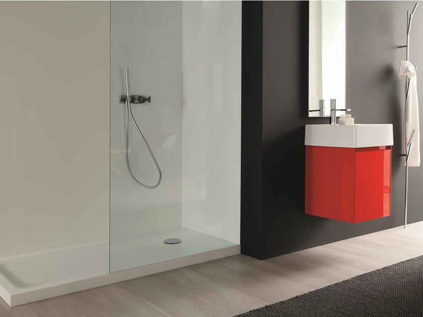 MDF bathroom furniture set LIGHT 45 - COMPOSITION G06 by NOVELLO