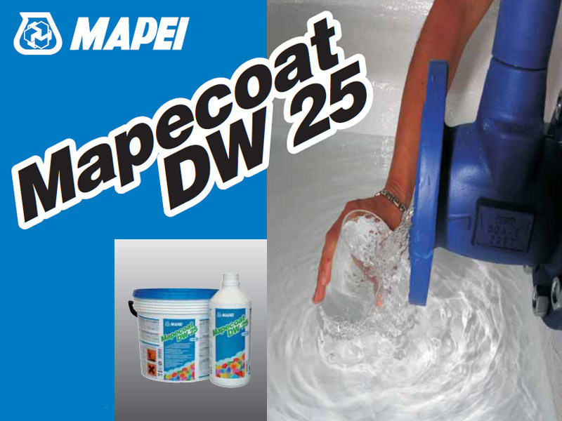 Flooring protection MAPECOAT DW 25 by MAPEI