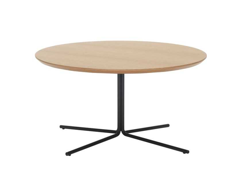 Round coffee table MOON by Inclass Mobles