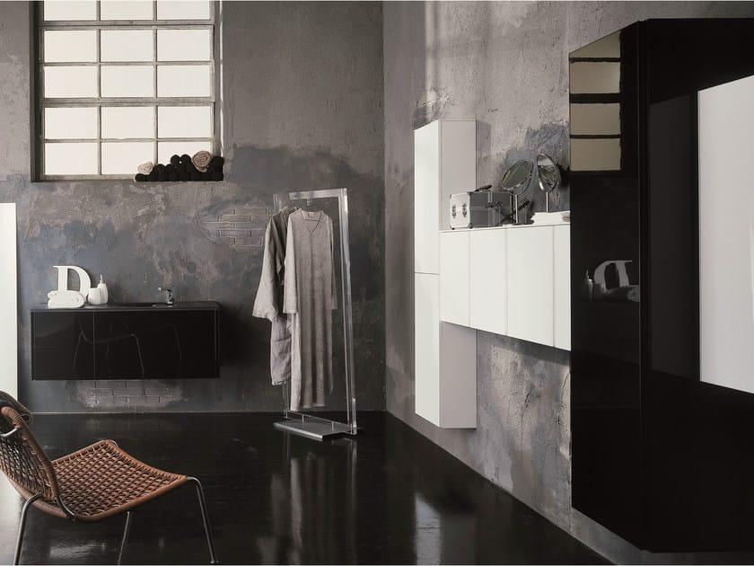 Arredo bagno completo MAX - COMPOSIZIONE X02C by NOVELLO