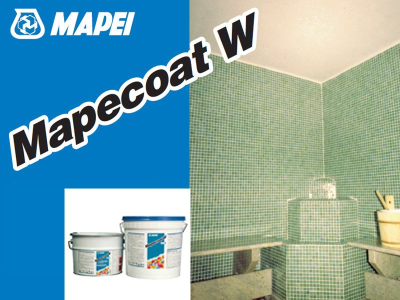 Flooring protection MAPECOAT W by MAPEI