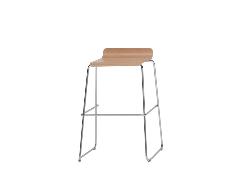 Wooden stool GINGER | Stool by Inclass Mobles