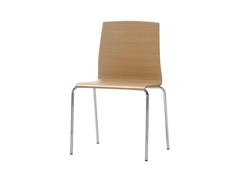 Wooden chair GINGER | Wooden chair by Inclass Mobles