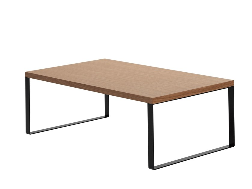 Rectangular wooden coffee table ÁVALON | Rectangular coffee table by Inclass Mobles