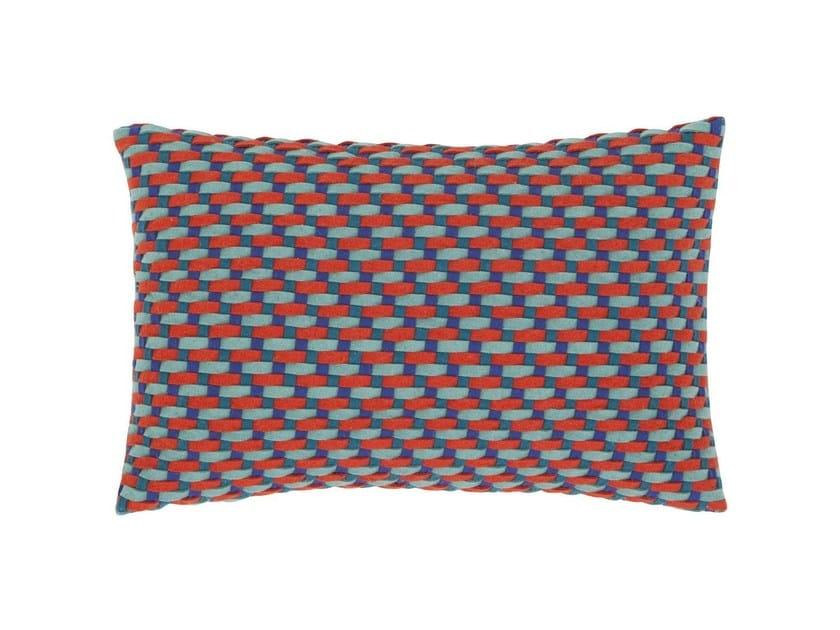 Rectangular wool cushion DETROIT | Cushion by GAN