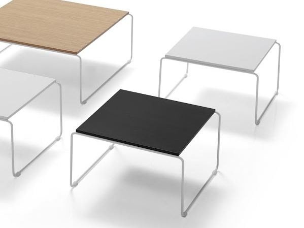 Square wooden coffee table ETNIA   Square coffee table by Inclass Mobles