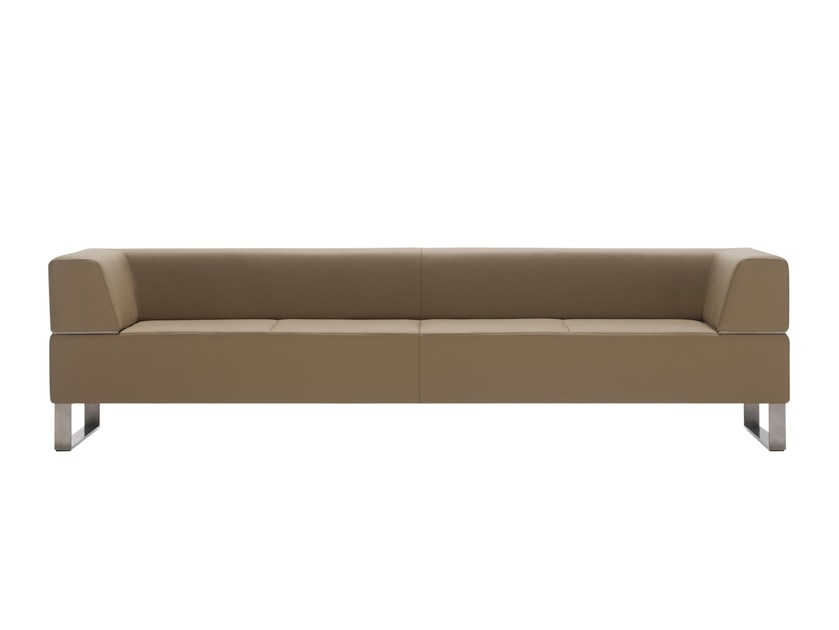 Leather sofa NORMA | Sofa by Inclass Mobles