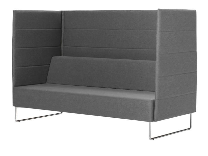 High-back fabric sofa TETRIS | High-back sofa by Inclass Mobles