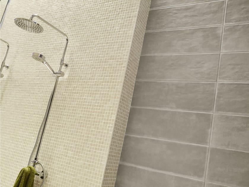 Glazed stoneware mosaic GROUND | Mosaic by Love Tiles