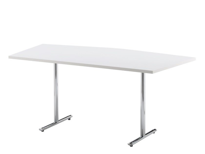 Contemporary style contract table TEMPEST | Office desk with flip-top by Howe