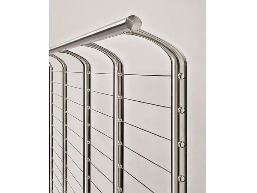 LED Window railing ANTI-CLIMB SUPPORT by Q-RAILING ITALIA