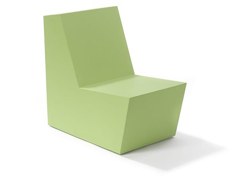 High-back foam garden chair SOHO | Garden chair by FISCHER MÖBEL