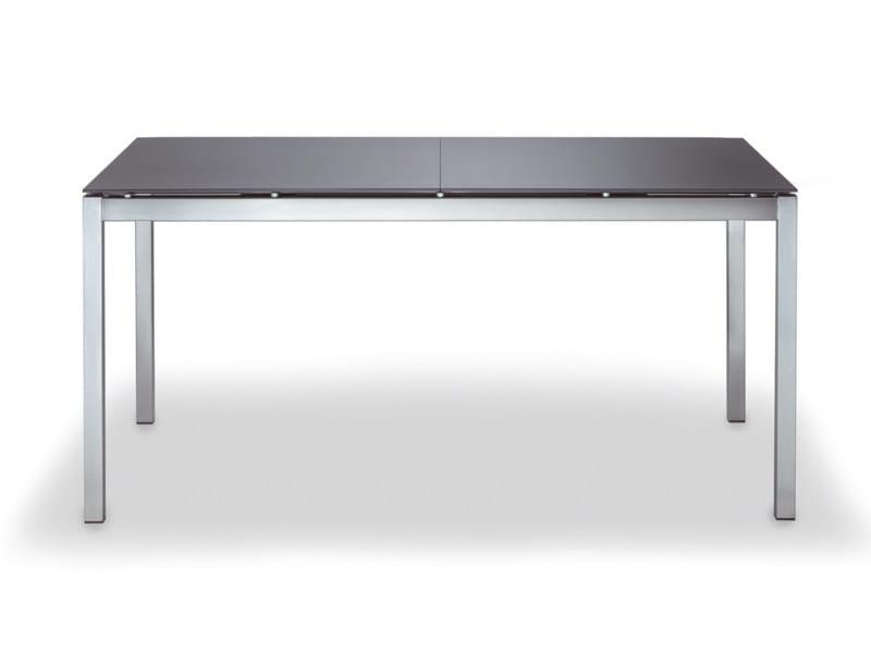 Extending rectangular garden table MODENA | Extending table by FISCHER MÖBEL