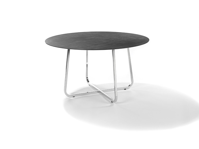 Round garden table MODENA | Round table by FISCHER MÖBEL