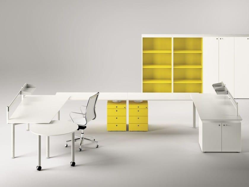 Individual office workstation MÈTA | Office workstation by FANTONI
