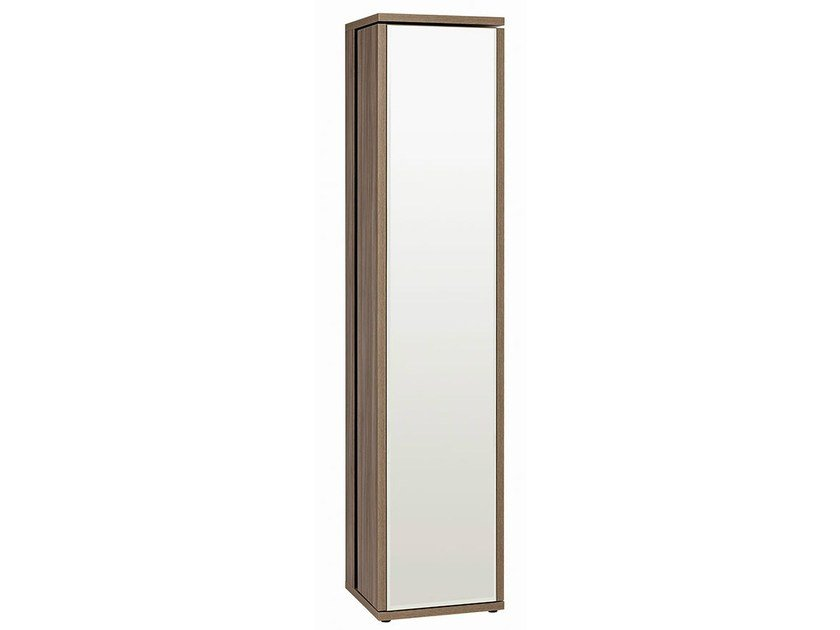 Bookcase/swivel mirror TALMONT | Wardrobe with 1 door by GAUTIER FRANCE
