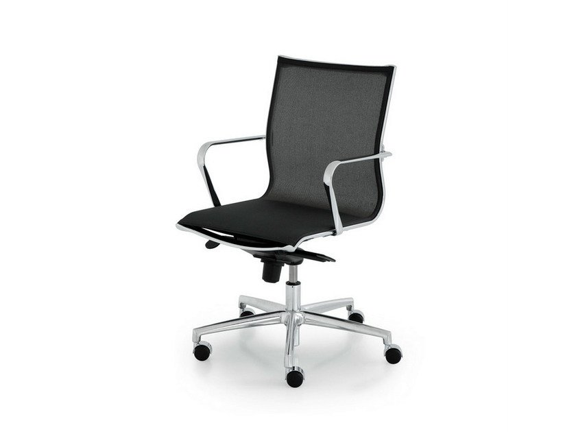Recliner task chair with armrests ELLE EXECUTIVE | Task chair with armrests by FANTONI