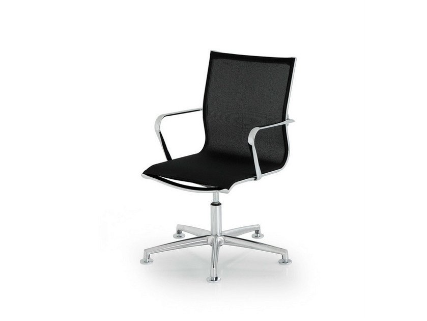 Height-adjustable task chair with 5-Spoke base ELLE EXECUTIVE | Task chair with 5-Spoke base by FANTONI