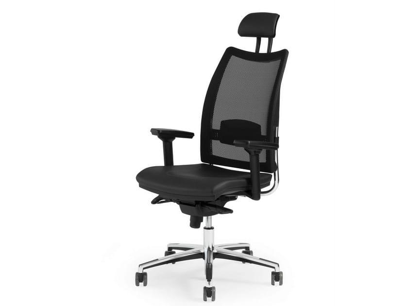 Recliner executive chair THYME EXECUTIVE | Mesh executive chair by FANTONI