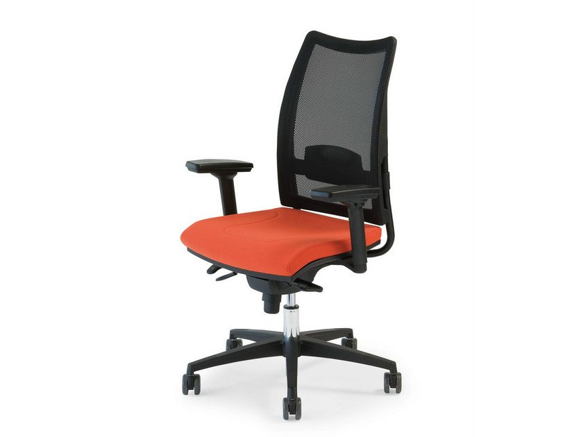 Task chair with armrests THYME | Height-adjustable task chair by FANTONI