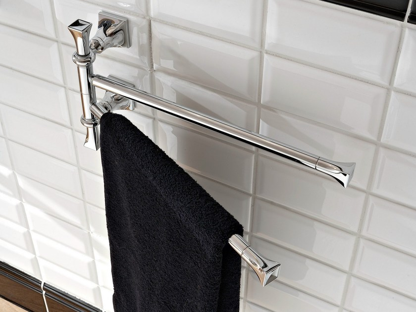 Towel rack BUTTERFLY   Towel rack by Scarabeo Ceramiche