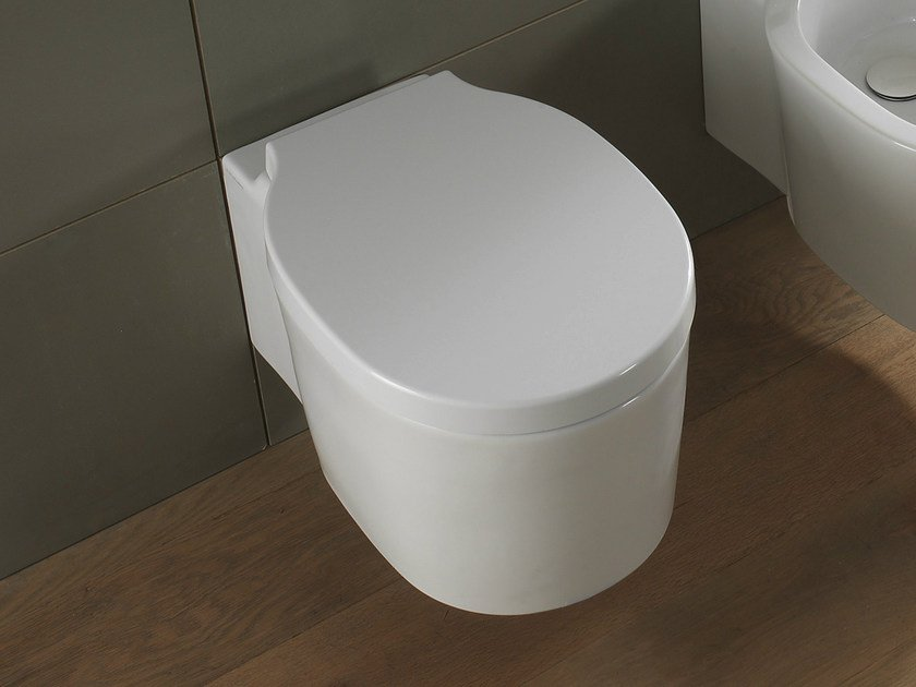 Wall-hung ceramic toilet BUCKET | Wall-hung toilet by Scarabeo Ceramiche