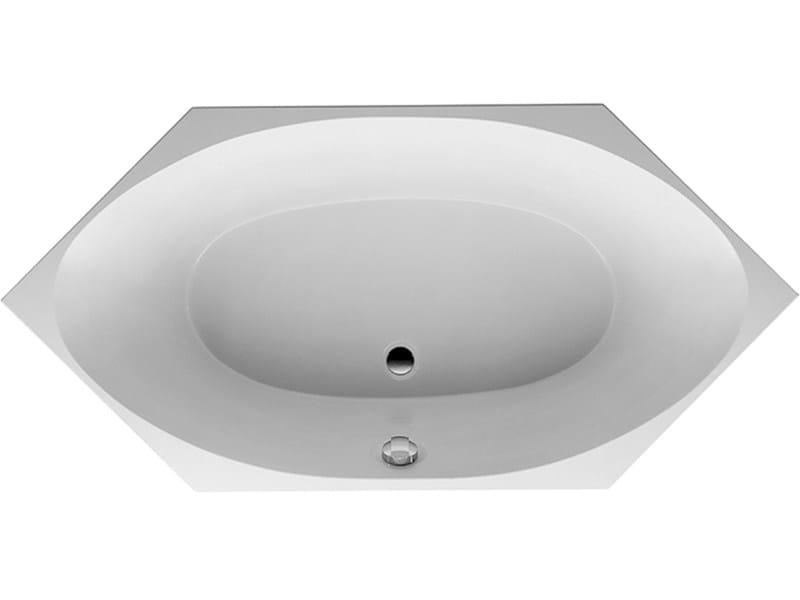 Vasca Da Bagno Da Incasso : Vasca da bagno esagonale in acrilico da incasso vasca da