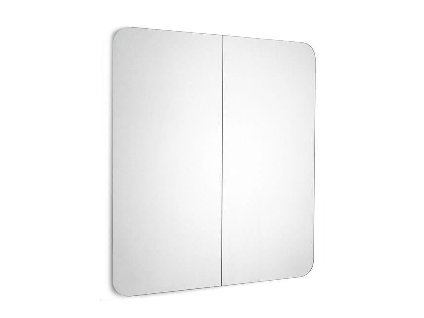 Rectangular wall-mounted bathroom mirror FUJI   Rectangular mirror by Scarabeo Ceramiche