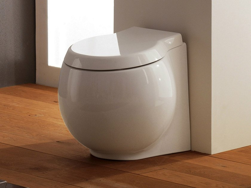 Ceramic toilet PLANET | Toilet by Scarabeo Ceramiche